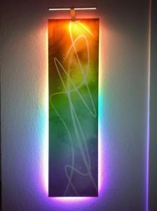 pixel LED strip application
